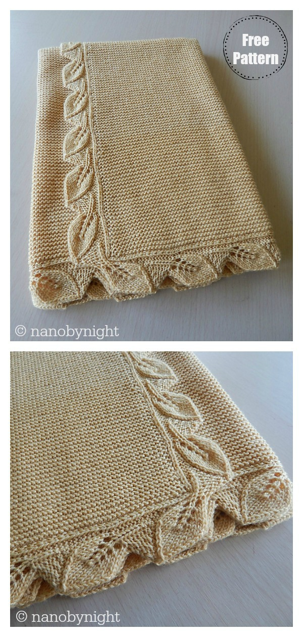 Sproutling Baby Blanket Free Knitting Pattern