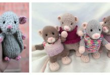 The Year of the Rat Free Knitting Pattern and Paid