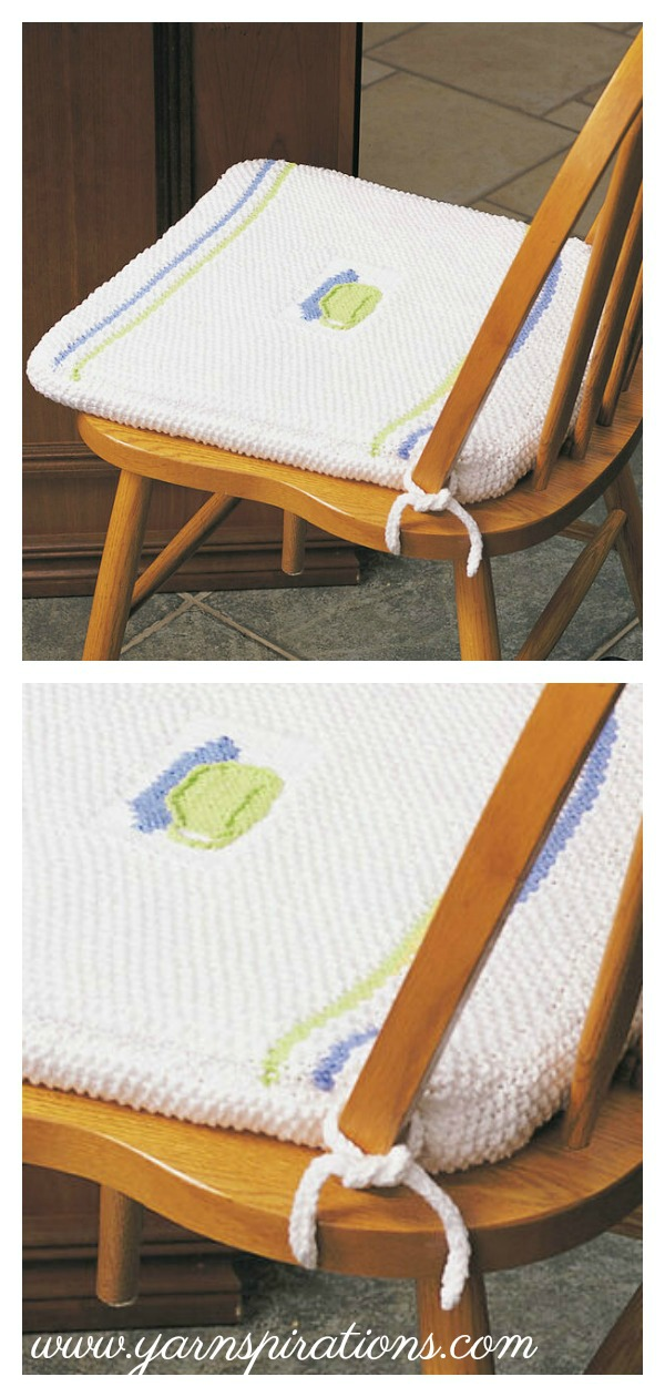 Chair Pad Free Knitting Pattern