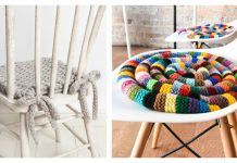 Chair Pad Free Knitting Pattern and Paid