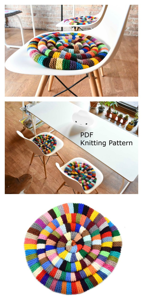 Chair Pad Knitting Pattern