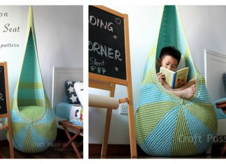 Cocoon Indoor Hanging Seat Free Knitting Pattern