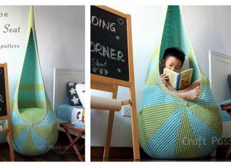 Cocoon Indoor Hanging Seat Free Knitting Pattern