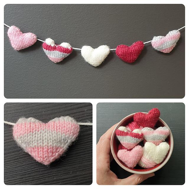 HalfBaked Tiny Heart Free Knitting Pattern