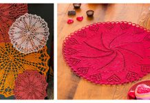 Heart Doily Free Knitting Pattern