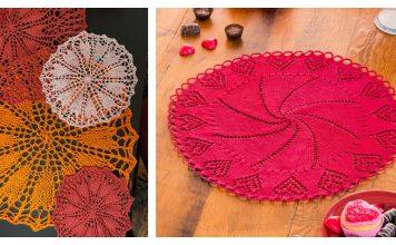 Heart Doily Free Knitting Pattern