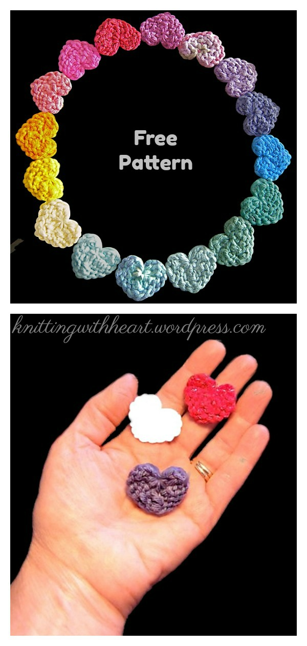 Tint Sweetie Heart Free Knitting Pattern