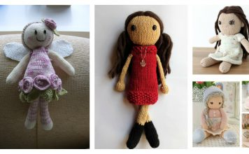 Adorable Doll Free Knitting Pattern and Paid