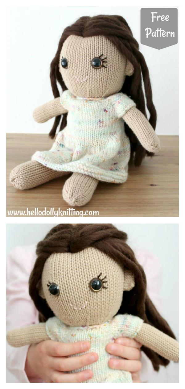 Adorable Doll Free Knitting Pattern