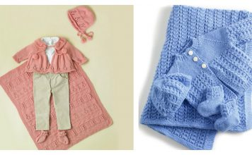 Baby Layette Set Free Knitting Pattern
