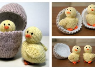 Chick and Egg Free Knitting Pattern