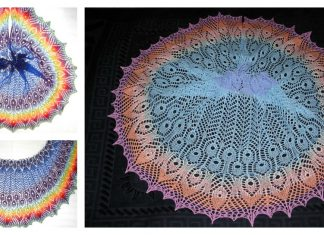 Gamayun Bird Shawl Free Knitting Pattern