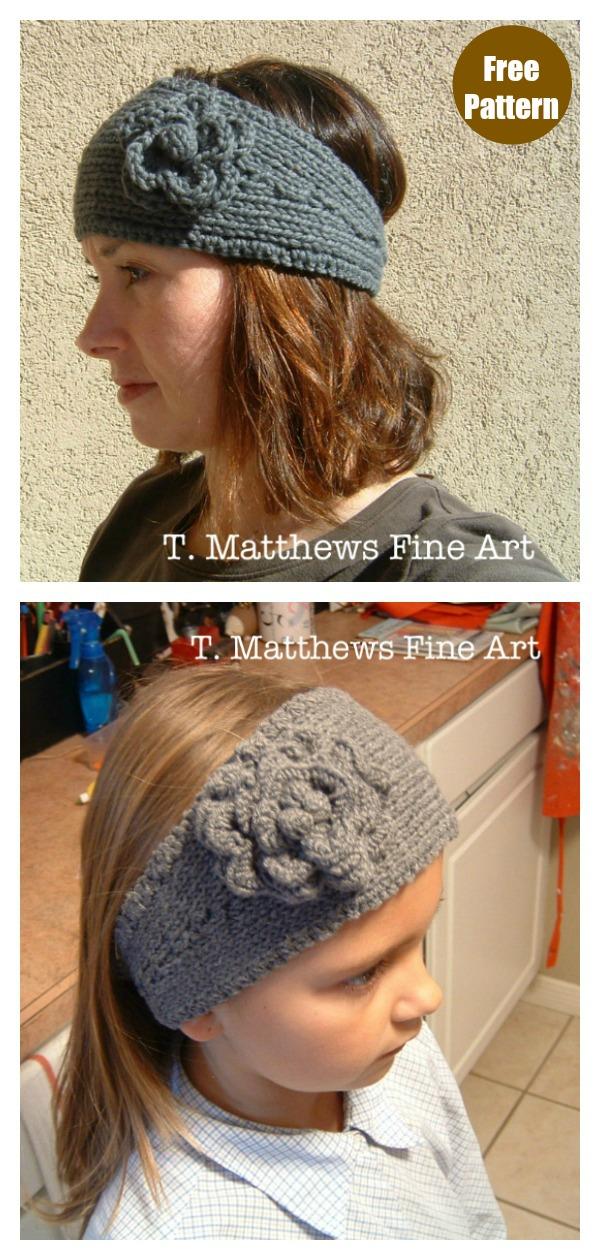 Headband Ear Warmer Free Knitting Pattern