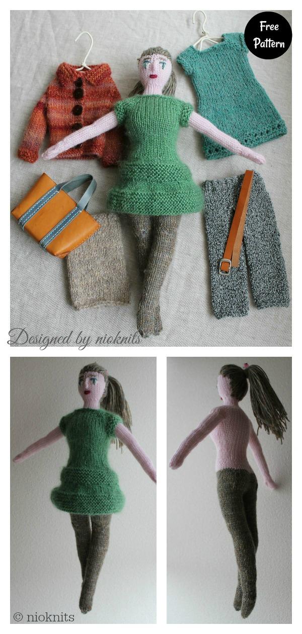 Keito Doll Free Knitting Pattern