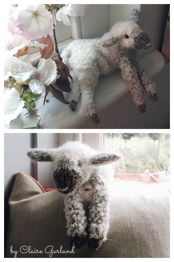 Lamb Free Knitting Pattern