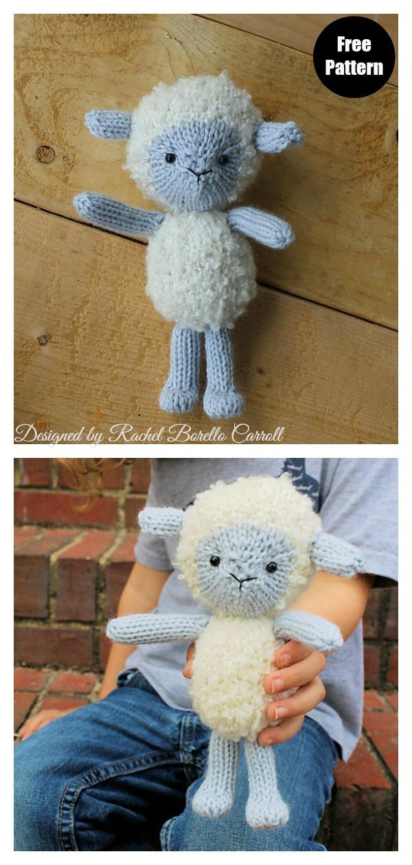 Little Lamb Amigurumi Free Knitting Pattern