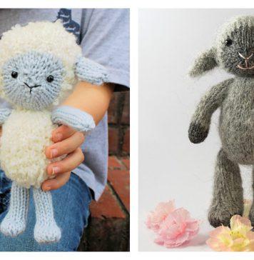 Little Lamb Free Knitting Pattern