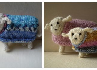 Little Sheep Free Knitting Pattern
