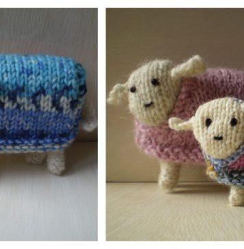 Little Sheep Free Knitting Pattern