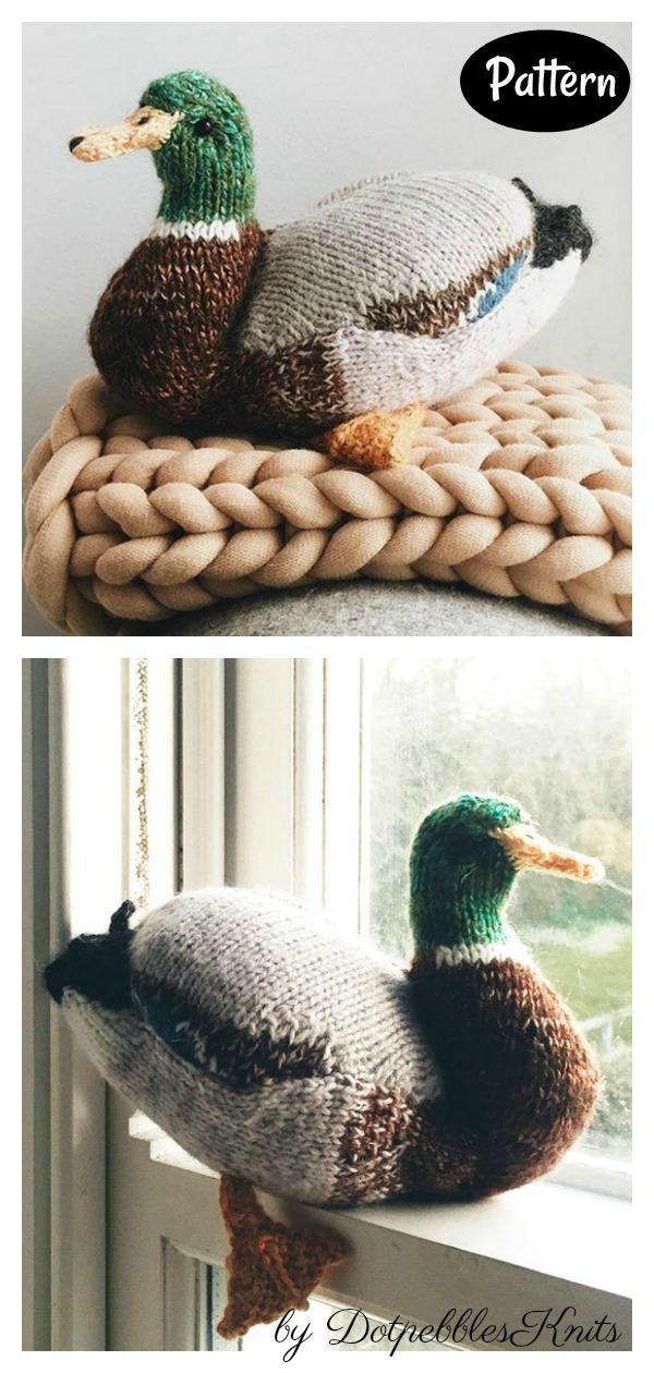 Mallard Duck Knitting Pattern