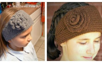 Simple Head Wrap Free Knitting Pattern
