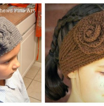 Simple Head Wrap Free Knitting Pattern