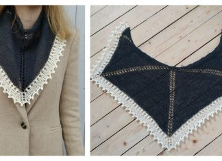 Spring shawl Free Knitting Pattern