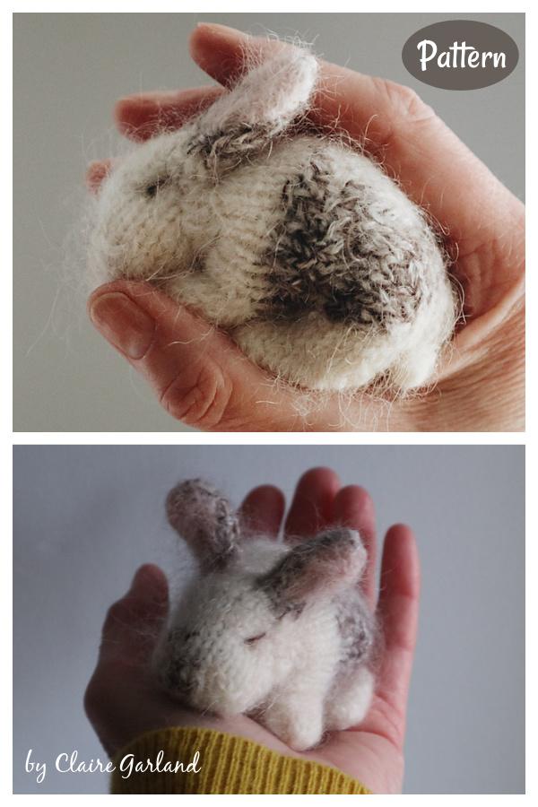 Teeny Tiny Bunny Knitting Pattern