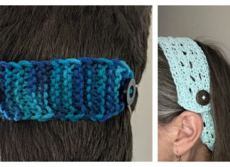 3 Face Mask Ear Savers Free Knitting Patterns