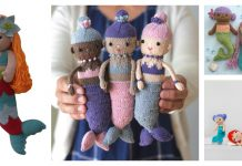 Adorable Mermaid Doll Knitting Patterns
