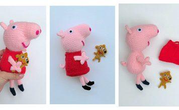 Amigurumi Peppa Pig Free Knitting Pattern
