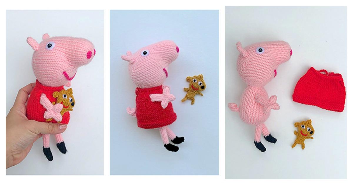 Ravelry: George Pig Amigurumi pattern by Tatie | 630x1200