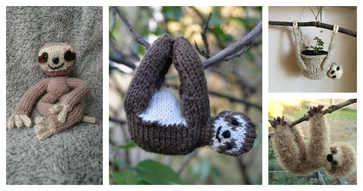 Ravelry: Sloth pattern by Twinkie Chan | 631x1200