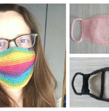 Face Mask Free Knitting Pattern
