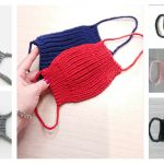 Face Mask Free Knitting Pattern and Paid