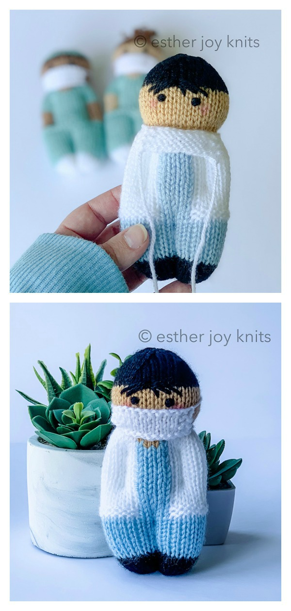 Friendly MD Doll Free Knitting Pattern