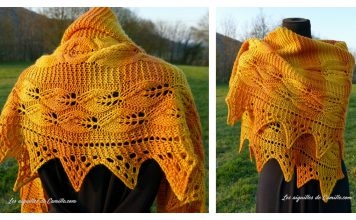 Let the Sunshine In Shawl Free Knitting Pattern