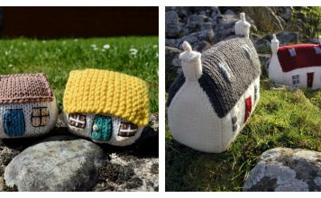 Little House Free Knitting Pattern and Paid