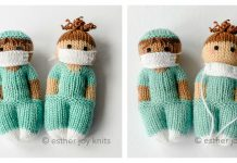 Nurse Doll Free Knitting Pattern