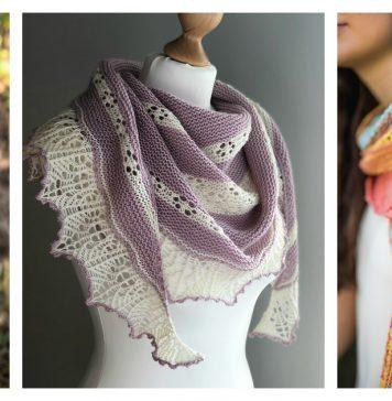 Sweet Dreams Shawl Free Knitting Pattern