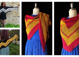 Wonder Woman Wrap Free Knitting Pattern
