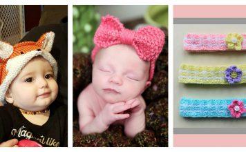 Adorable Baby Headband Free Knitting Pattern