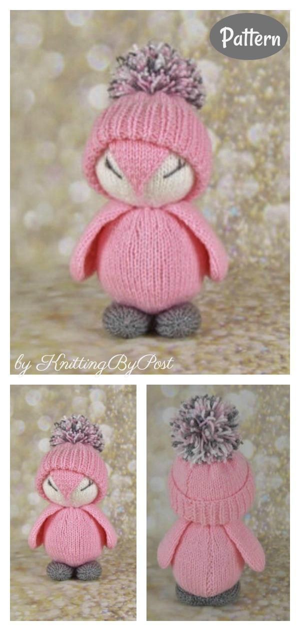 Amigurumi Penguin Soft Toy Knitting Pattern