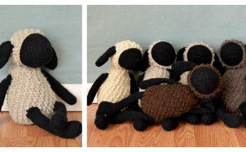 Amigurumi Toy Sheep Free Knitting Pattern
