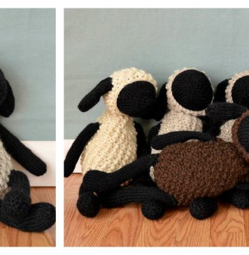 Amigurumi Toy Sheep Free Knitting Pattern