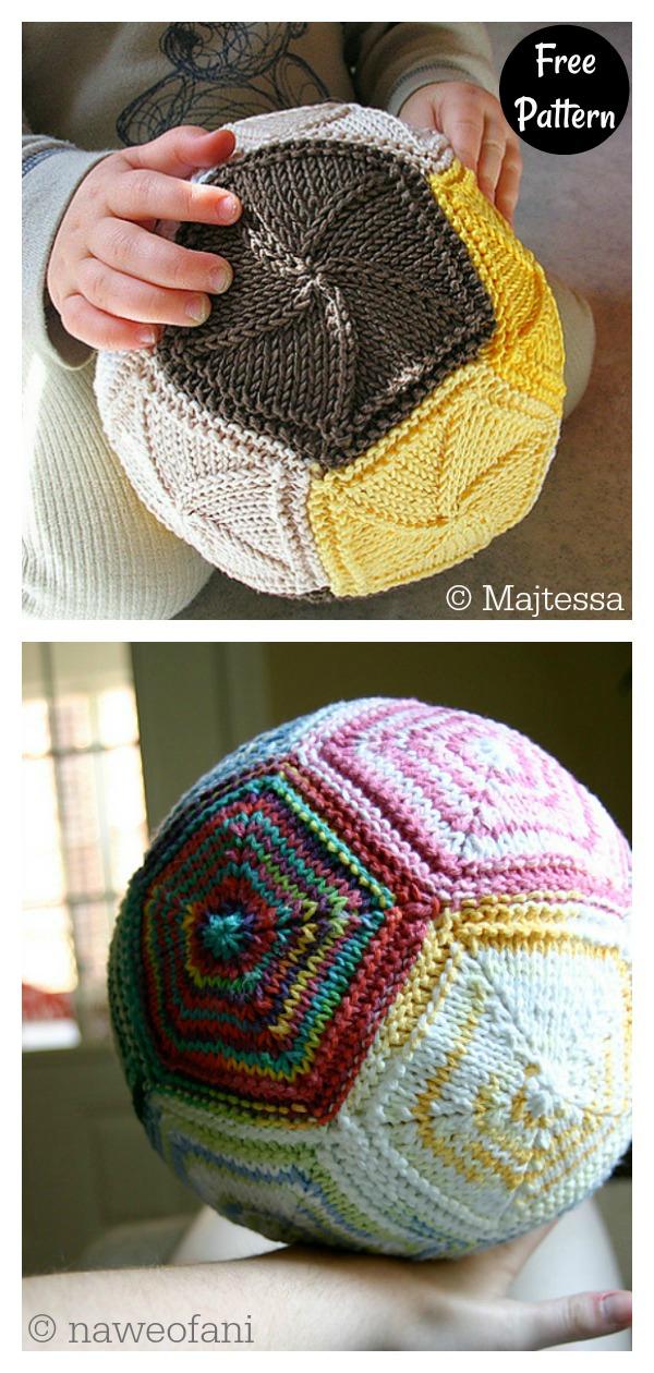 Doddy Soft Playing Ball Free Knitting Pattern