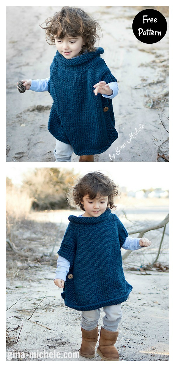 Easy Kids Tunic Free Knitting Pattern