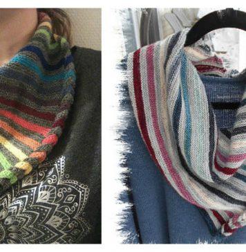 Faux Braid Neck Warmer Free Knitting Pattern