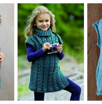 Kids Tunic Free Knitting Pattern