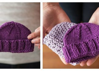 Simple Baby Hat Free Knitting Pattern